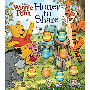 Winnie the Pooh: Honey to Share Book