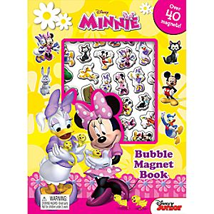Minnie Bubble Magnet Book