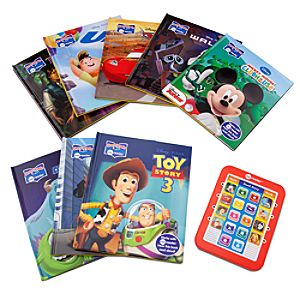 Disney Modern Electronic Reader and 8-Book Library