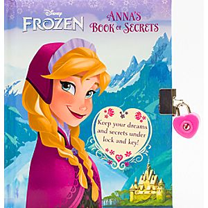 Frozen: Annas Book of Secrets Book