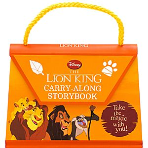 The Lion King Carry-Along Storybook
