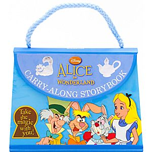 Alice in Wonderland Carry-Along Storybook
