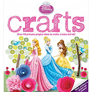 Disney Princess Crafts Book