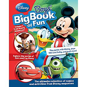 Disney Boys Big Book of Fun