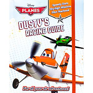 Planes Dustys Racing Guide Book