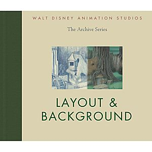 Layout & Background - Walt Disney Animation Studios Archive Series Book