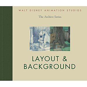 Layout & Background - Walt Disney Animation Studios Archive Series Book