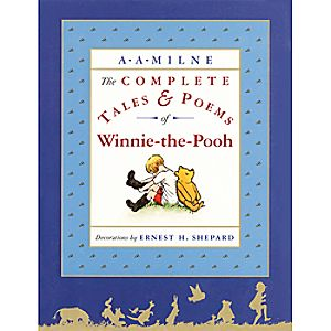 Winnie-the-Pooh The Complete Tales & Poems Book