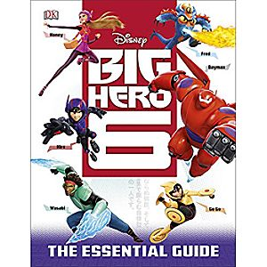 Big Hero 6 The Essential Guide Book
