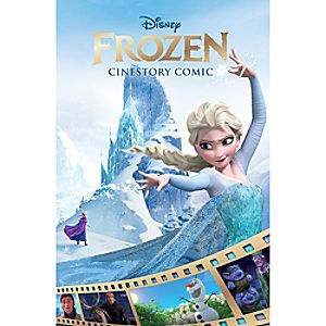 Frozen: The Cinestory Book