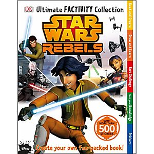 Star Wars Rebels Ultimate Factivity Collection Book