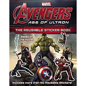 Marvels Avengers: Age of Ultron: The Resuable Sticker Book