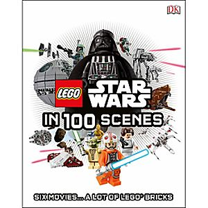 Star Wars LEGO In 100 Scenes Book