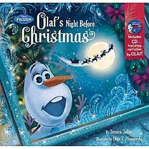 Olafs Night Before Christmas Book and CD