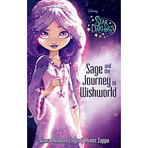 Star Darlings: Sage and the Journey to Wishworld Book