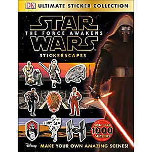 Ultimate Sticker Collection: Star Wars: The Force Awakens Stickerscapes Book