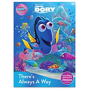 Finding Dory Theres Always a Way Book