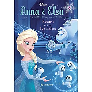 Anna & Elsa: Return to the Ice Palace Book