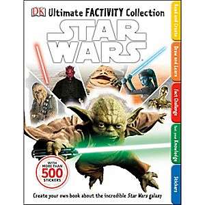 Star Wars: Ultimate Factivity Collection Book