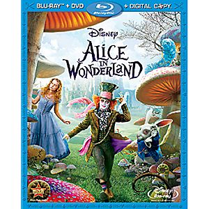 Alice in Wonderland Blu-ray, DVD and Digital Copy Combo Pack