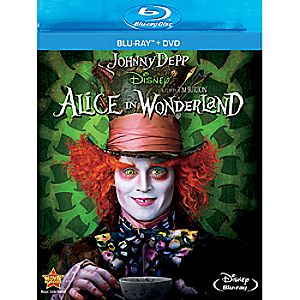 Alice In Wonderland Blu-ray and DVD Combo Pack