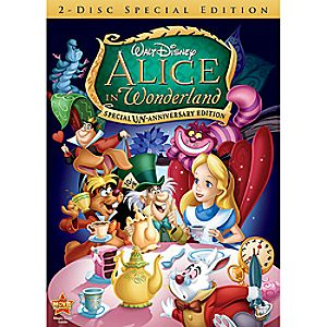 Alice in Wonderland Special Un-Anniversary Edition 2-Disc DVD