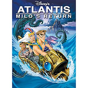 Atlantis: Milos Return DVD