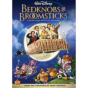 Bedknobs and Broomsticks DVD Enchanted Musical Edition