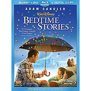 Bedtime Stories 3-Disc Blu-ray, DVD and Digital File
