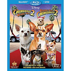 Beverly Hills Chihuahua 2 Spanish Blu-ray and DVD