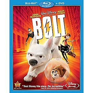 Bolt 2-Disc Blu-ray and DVD