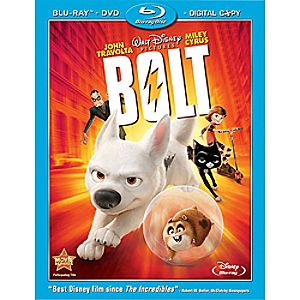 Bolt 3-Disc Blu-ray, DVD, and Digital File