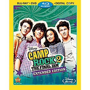 Camp Rock 2: The Final Jam 3-Disc Blu-Ray, DVD and Digital File Extended Edition