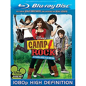 Camp Rock Blu-ray DVD Extended Rock Star Edition
