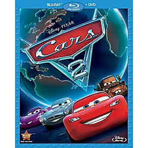 Cars 2 2-Disc Blu-ray and DVD