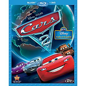 Cars 2 2-Disc Blu-ray and DVD Spanish