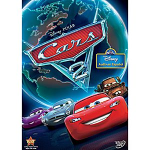 Cars 2 DVD Spanish