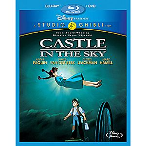 Castle in the Sky 2-Disc Blu-ray and DVD