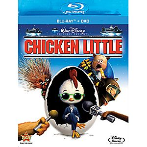 Chicken Little 2-Disc Blu-ray and DVD