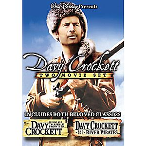 Davy Crockett Two Movie Set DVD