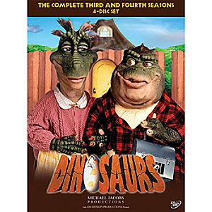 Dinosaurs: The Complete Third and Fourth Seasons DVD
