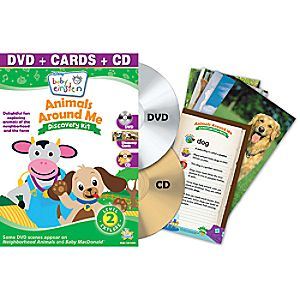 Disney Baby Einstein: Animals Around Me DVD and Discovery Kit
