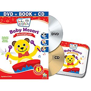 Disney Baby Einstein: Baby Mozart DVD and Discovery Kit