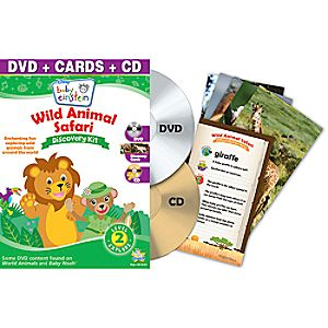 Disney Baby Einstein: Wild Animal Safari DVD and Discovery Kit