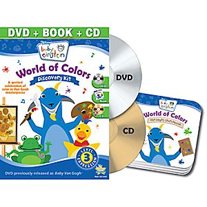 Disney Baby Einstein: World of Colors DVD and Discovery Kit