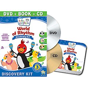 Disney Baby Einstein: World of Rhythm DVD and Discovery Kit