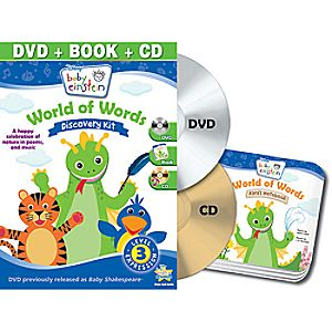 Disney Baby Einstein: World of Words DVD and Discovery Kit