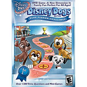 Disney DVD Game World Disney Dogs Edition: Blue Ribbon Challenge