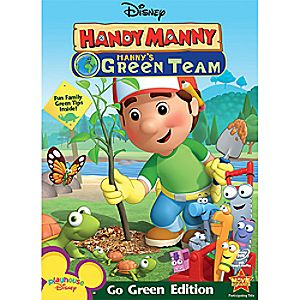 Disney Handy Manny: Mannys Green Team DVD