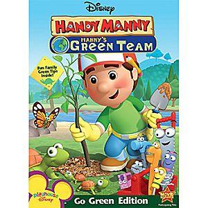 Handy Manny: Manny's Green Team DVD